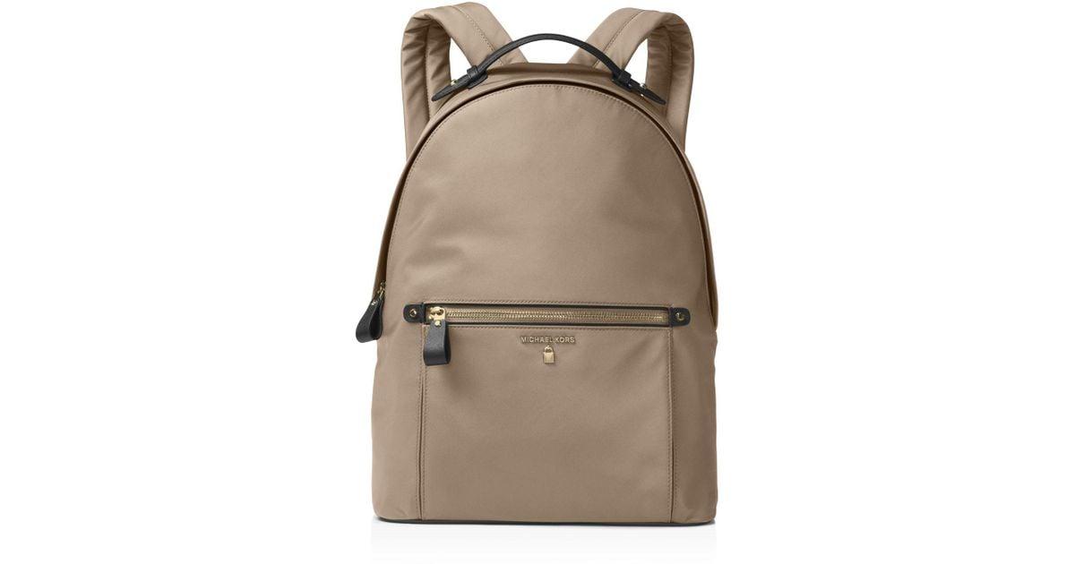 096258e00ddd ... promo code for michael michael kors kelsey large nylon backpack lyst  c4e15 92017 ...