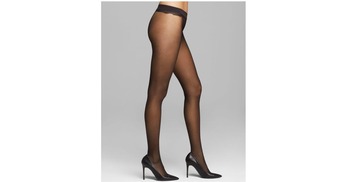 2649271d94956 Calvin Klein Sheer Essentials Seamless Tights in Black - Lyst