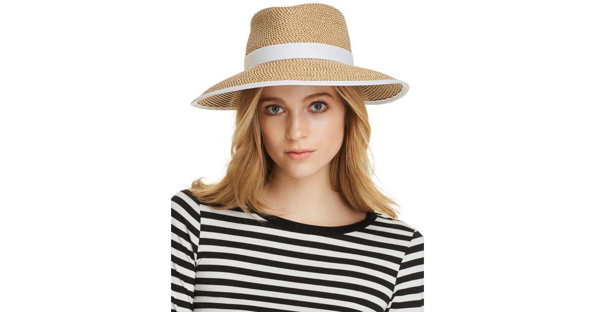 a0d68ad859d Lyst - Eric Javits Sun Crest Packable Hat