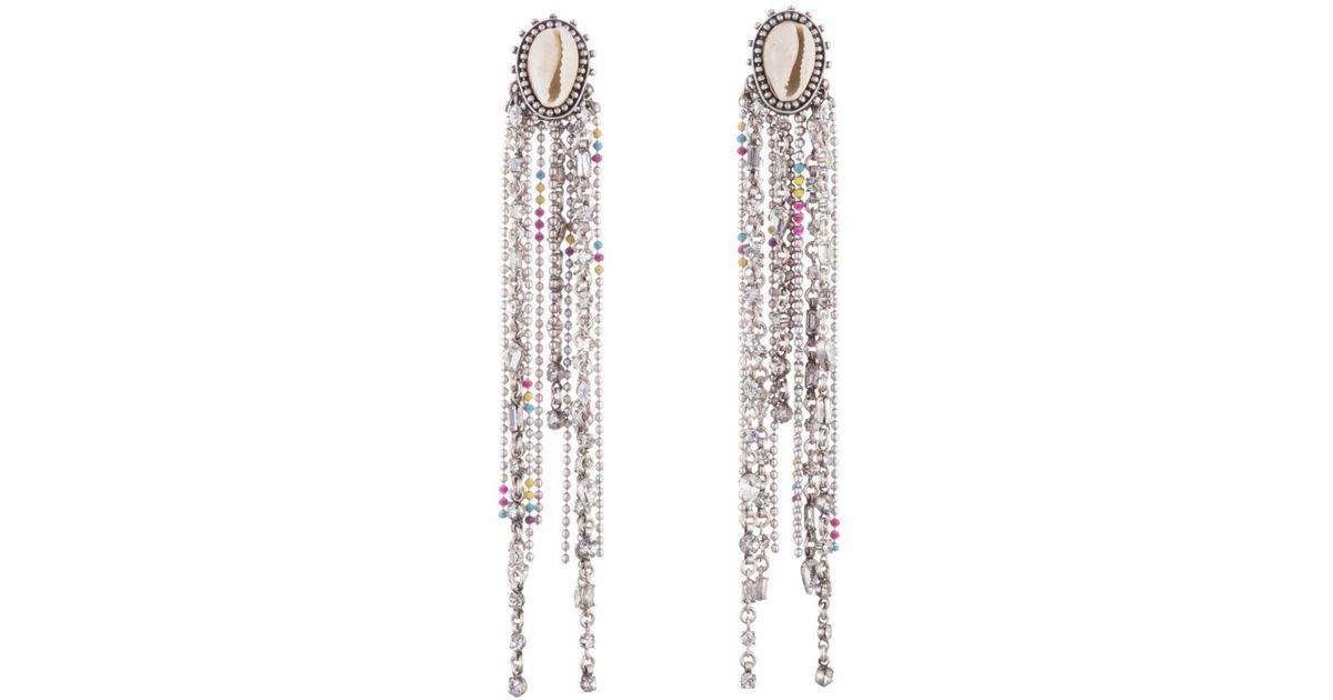 b3d36d2e5b69a DANNIJO Metallic Carosi Drop Earrings