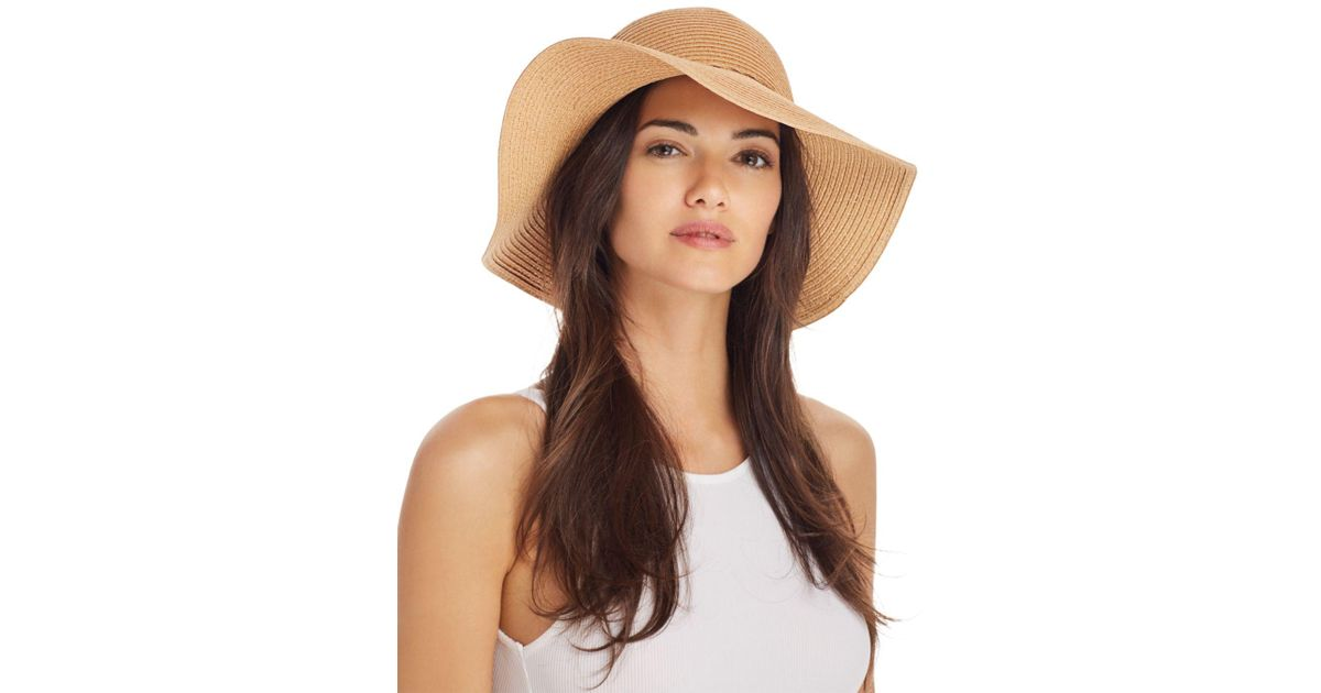 8eedab726dc09c August Hat Company Floppy Sun Hat in Natural - Lyst
