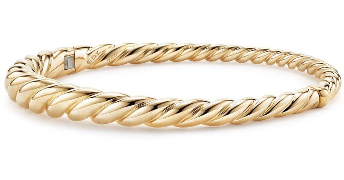 David Yurman Pure Form Cable bangle - Metallic nVGUWq8Y