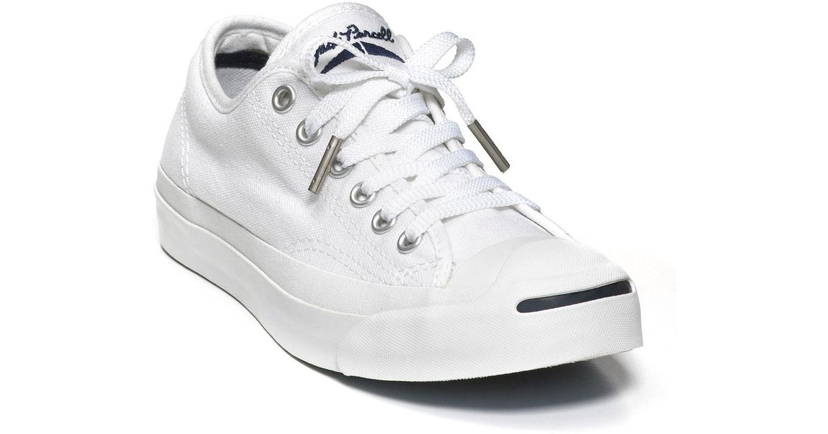 Converse Canvas Jack Purcell White Core