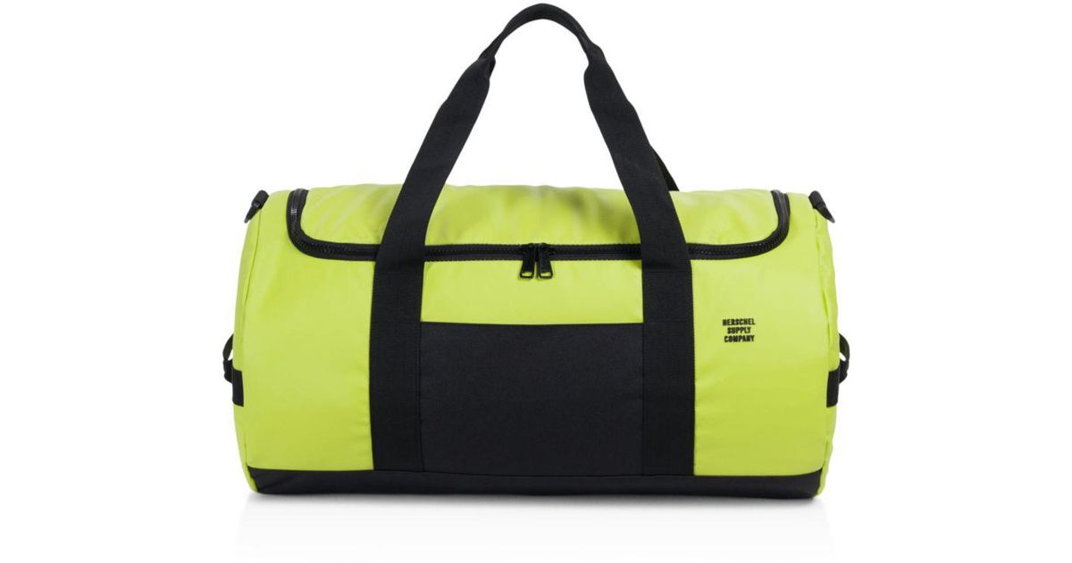 21338663578e Lyst - Herschel Supply Co. Studio Collection Coated Sutton Duffel Bag in  Green for Men