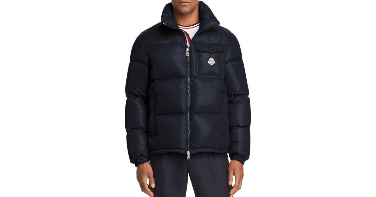 711025d2d Moncler Blue Montbeliard Down Jacket for men