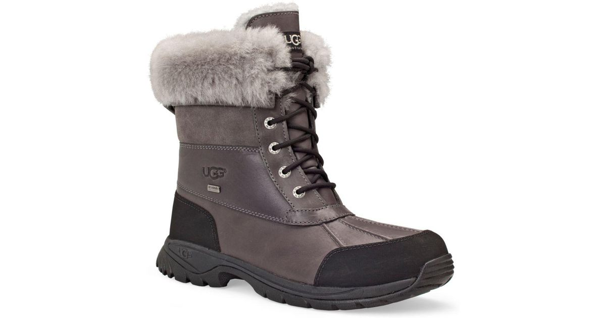 0f102906362 Ugg - Gray Australia Men's Butte Boots for Men - Lyst