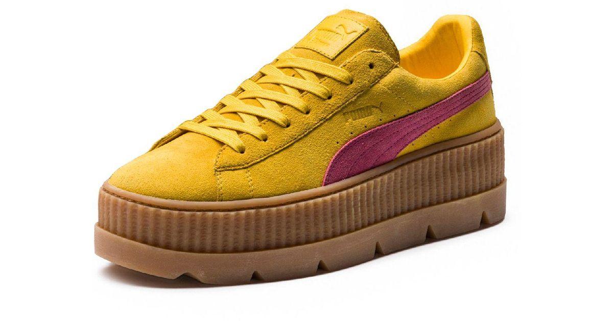 puma creeper platform sneakers