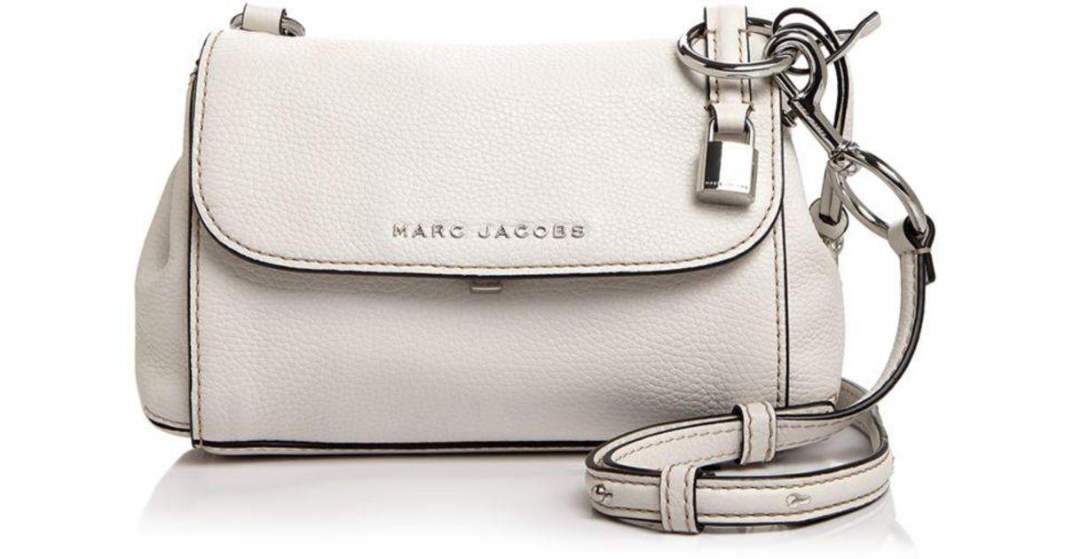 aed31aba8e Marc Jacobs Mini Boho Grind Leather Crossbody - Lyst