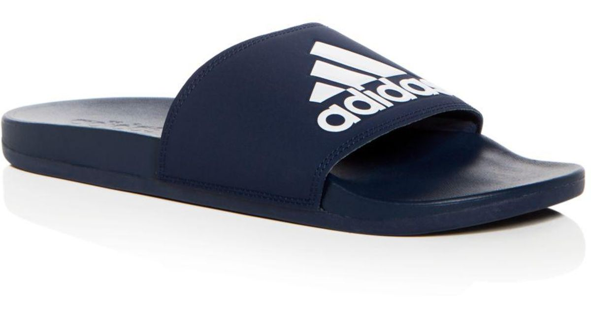 Blue Men For Sandal Adidas Adilette CfSlide I6Yb7yvgf