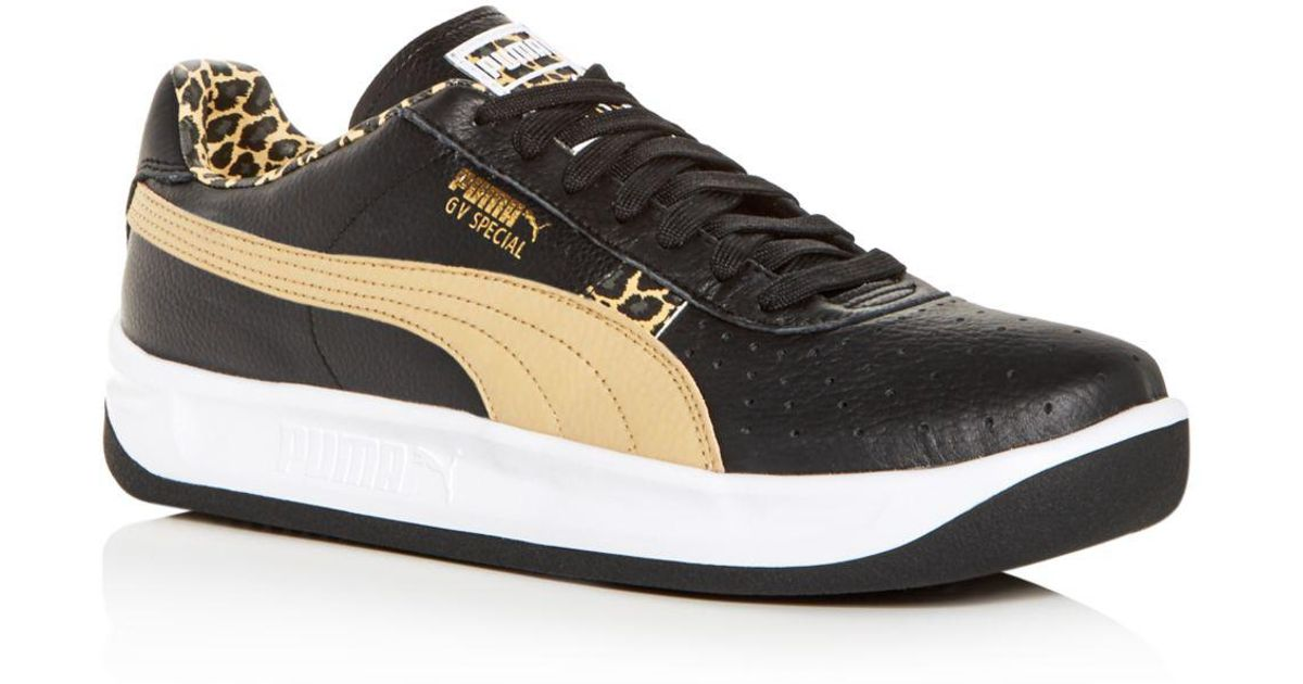 best website 3bc11 1df12 PUMA Black Gv Special Wild Cheetah Sneakers for men