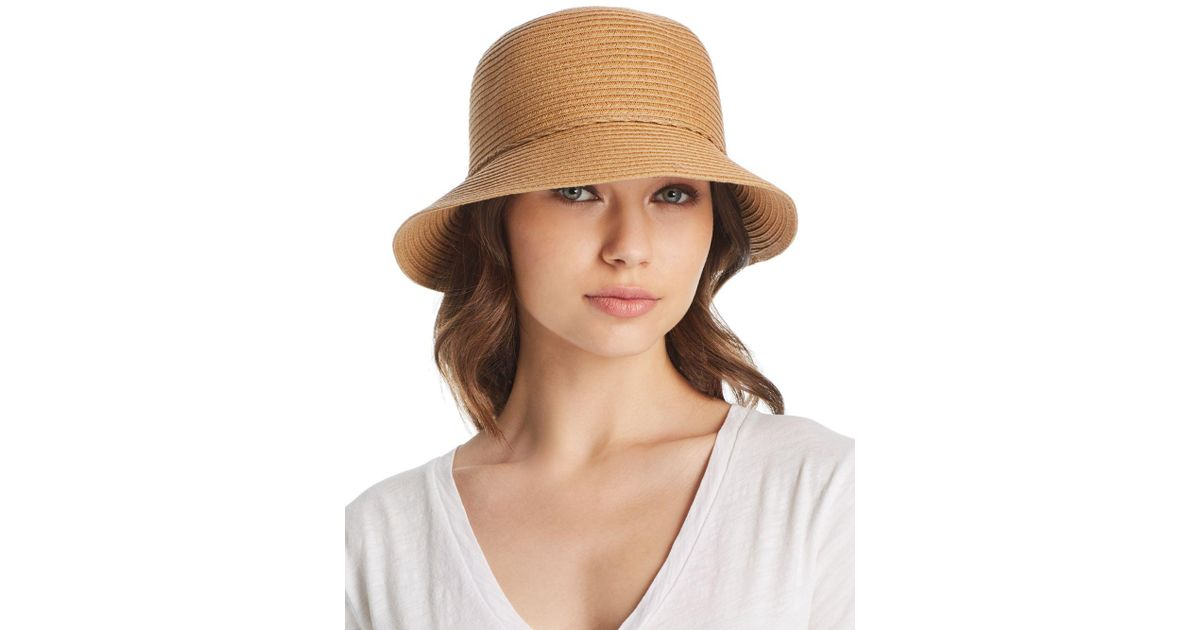 5d1e84e59efd1 August Hat Company Forever Classic Cloche in Natural - Lyst
