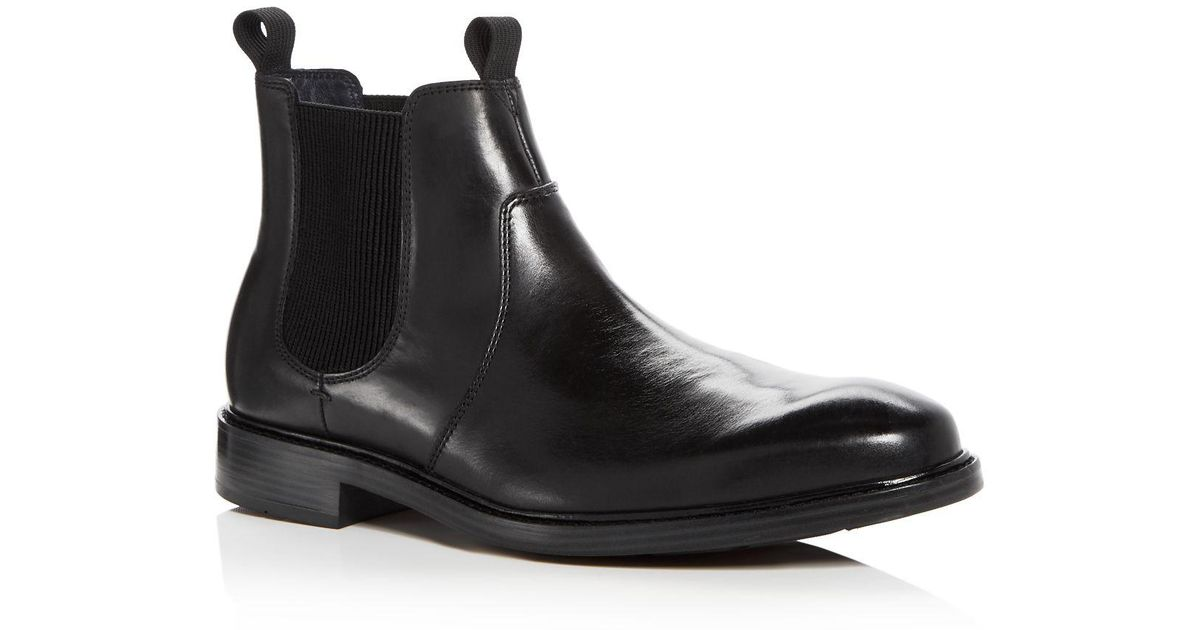 b30343d7e0a Cole Haan Black Men's Kennedy Leather Chelsea Boots for men