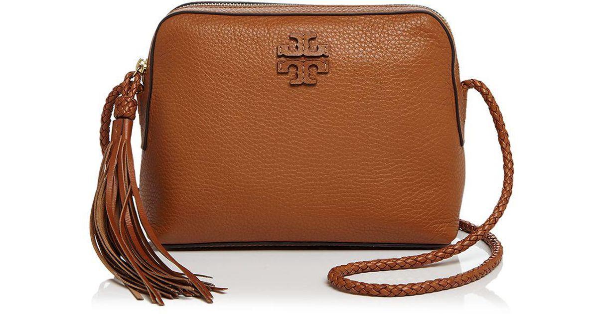 2df20864f9b2 Tory Burch Taylor Leather Camera Bag - Lyst