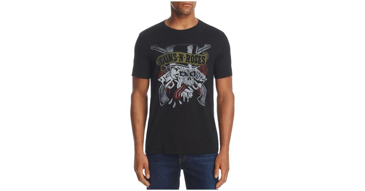 Lyst John Varvatos Guns N 39 Roses Crewneck Short Sleeve
