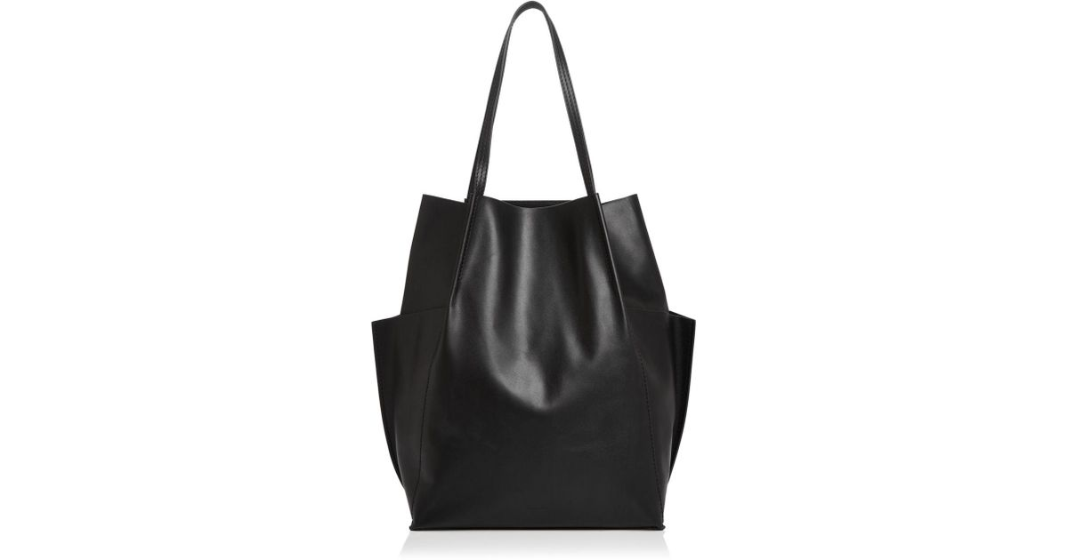 975a25df Steven Alan Black Dermot Leather Tote