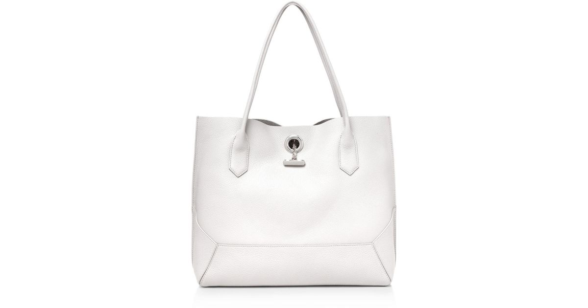 544acdfa7 Botkier Waverly Leather Tote in White - Lyst