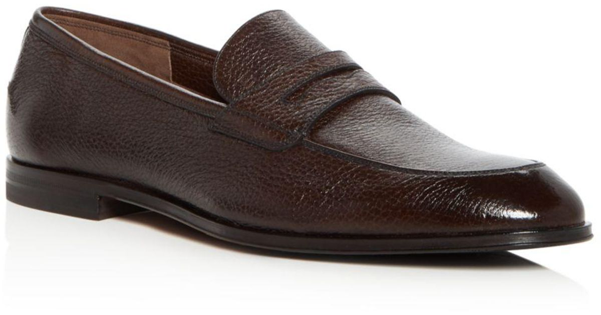 Bally Men's Webb Leather Penny Loafers in Brown for Men - Lyst