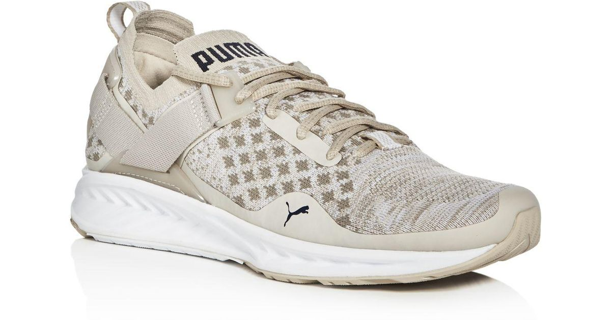 69b8bf5cacf281 Lyst - PUMA Men s Ignite Evoknit Lo Pavement Lace Up Sneakers in Brown for  Men