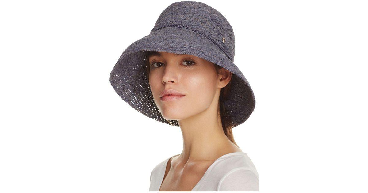 a6669e5e539 Lyst - Helen Kaminski Provence 10 Hat