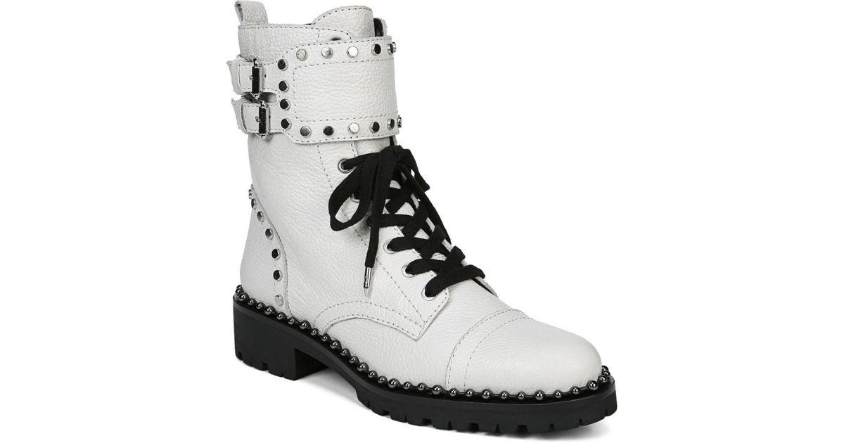fb2a979130a276 Lyst - Sam Edelman Jennifer Boot in White