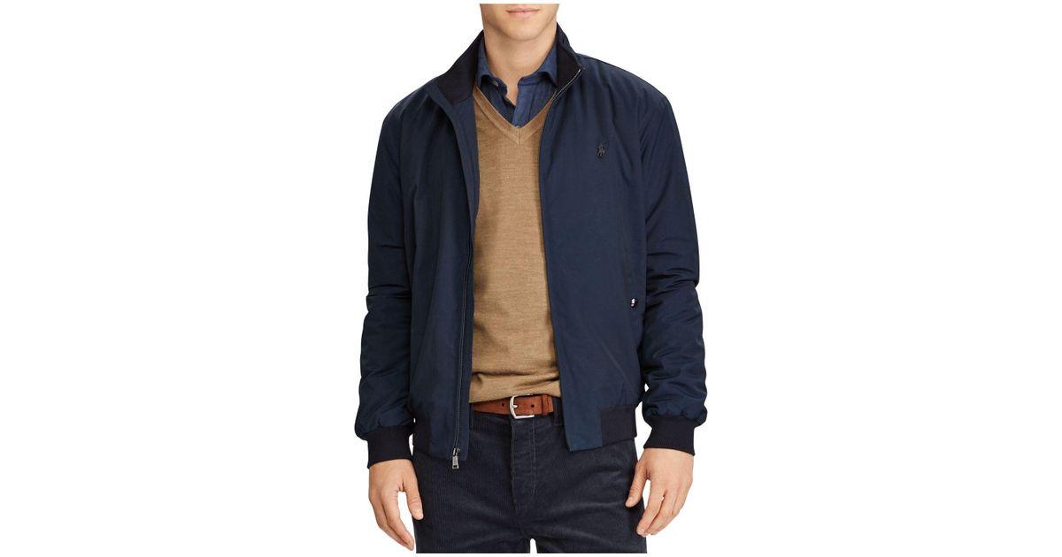 Blue Men For Packable Polo Ralph Lauren Windbreaker Jacket On80wPk