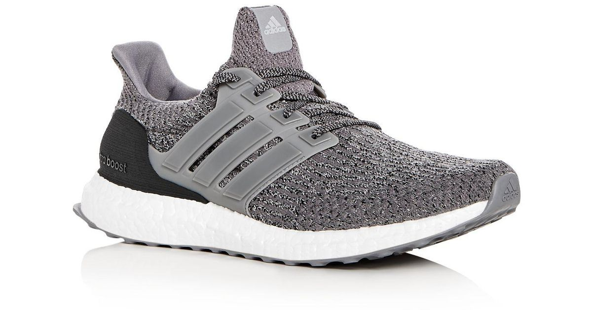 218edb5c5 ... Lyst - Adidas Mens Ultraboost Primeknit Lace Up Sneakers in Gray for Men