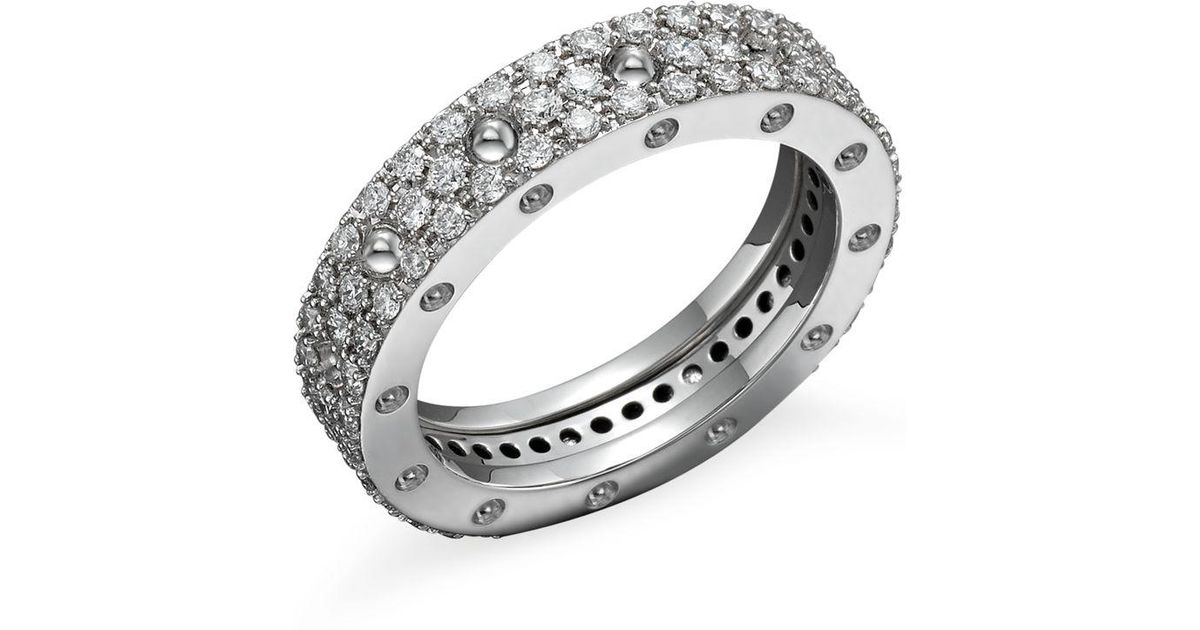 Roberto Coin 18k Gold Pave Diamond Ring GXBfKAt7