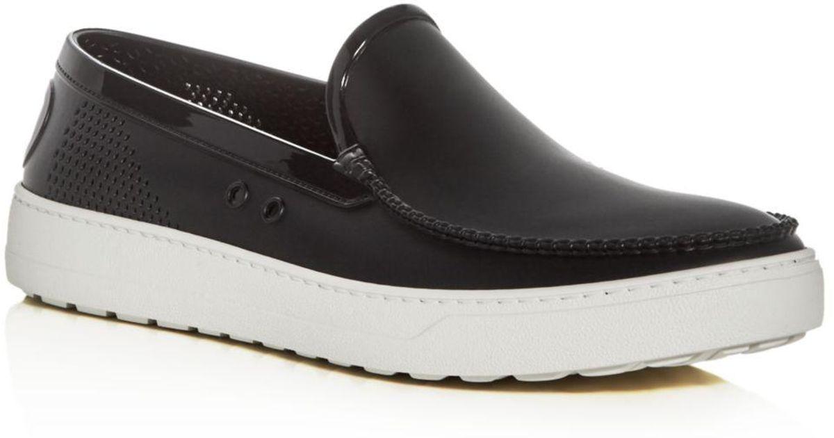 Ferragamo Black Fury 2 Slip on Sneaker for men