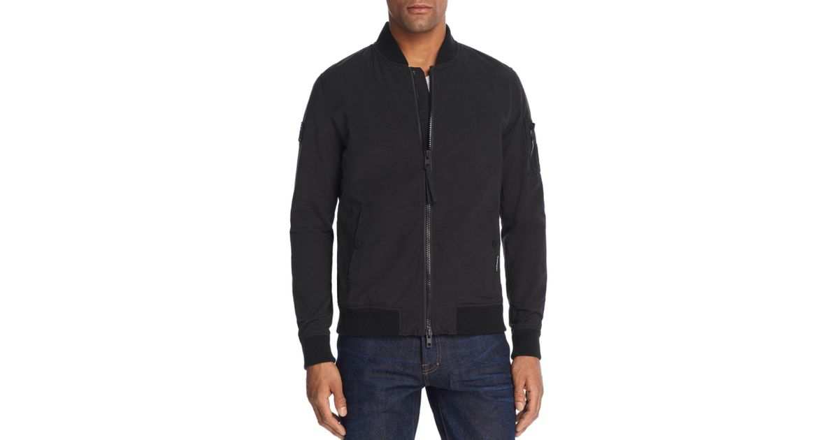 a8a489cab Superdry Black Rookie Air Corps Bomber Jacket for men