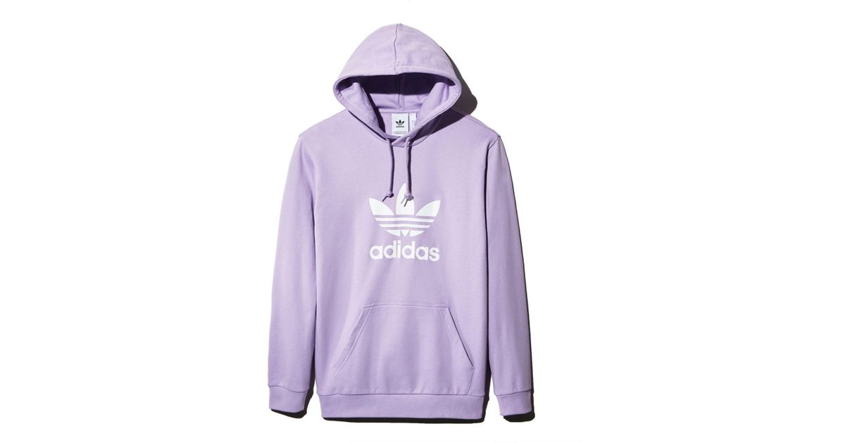 adidas hoodie lavender