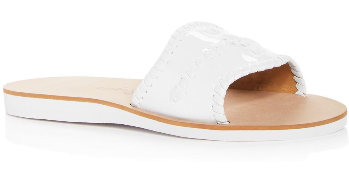 Jack Rogers Women's Boating Demi Wedge Slide Sandals xICDwMbIz