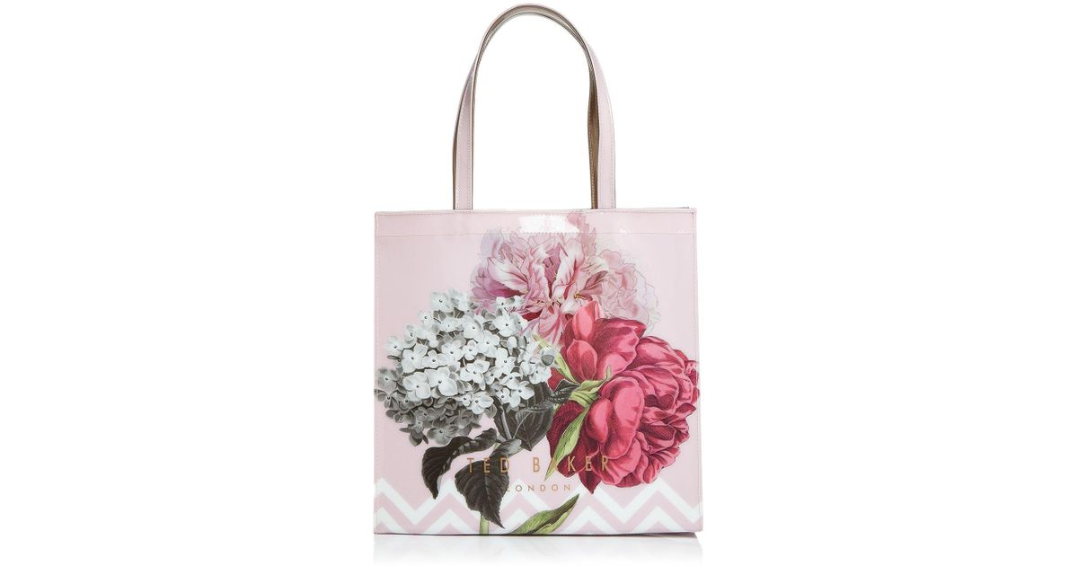 cb4b4c74f Ted Baker Emelcon Palace Gardens Icon Tote in Pink - Lyst