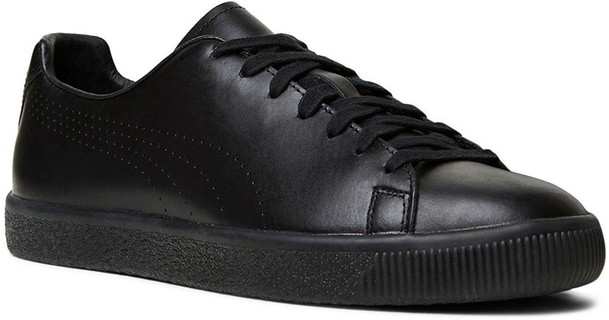 79e8a01fa9 The Kooples Black X Puma Clyde Lace Up Sneakers