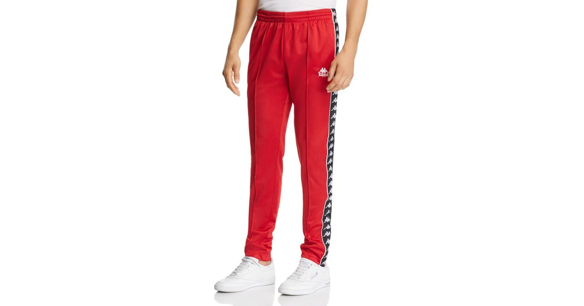 4803cc6ab3 Kappa Red Authentic Fairfax Sweatpants for men