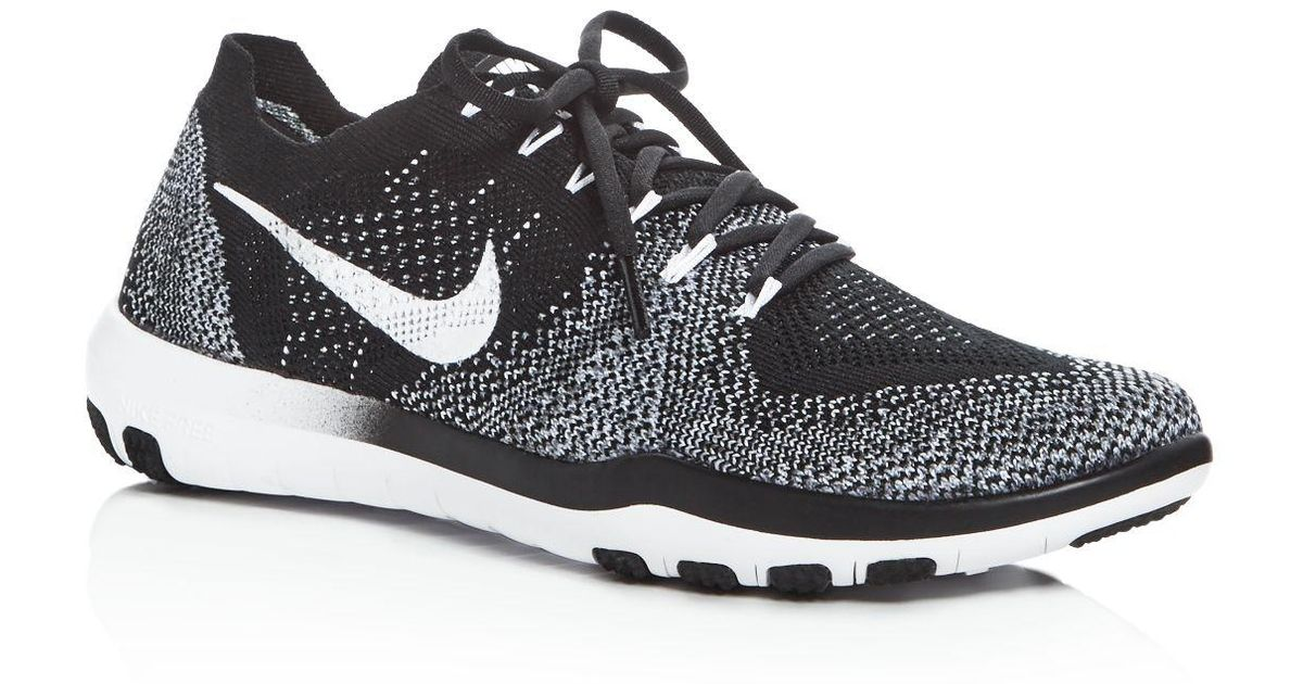 Lyst Nike Women S Free Focus Flyknit 2 Lace Up Sneakers