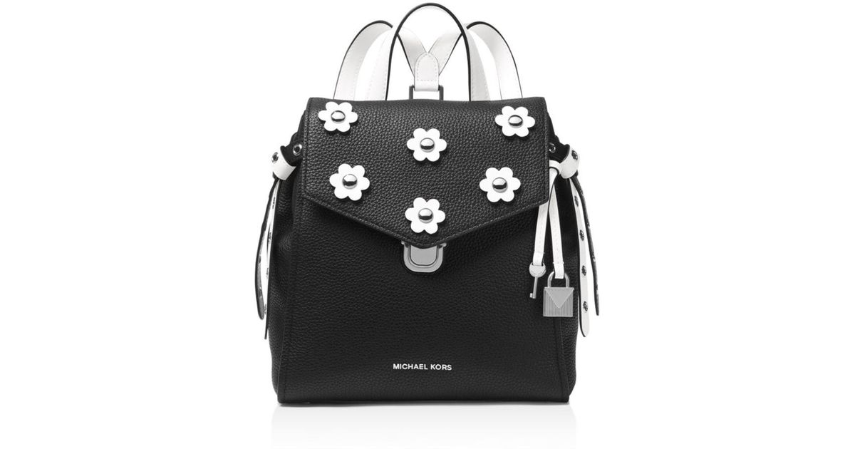 87bba41b58560 Lyst - MICHAEL Michael Kors Bristol Small Leather Backpack in Black