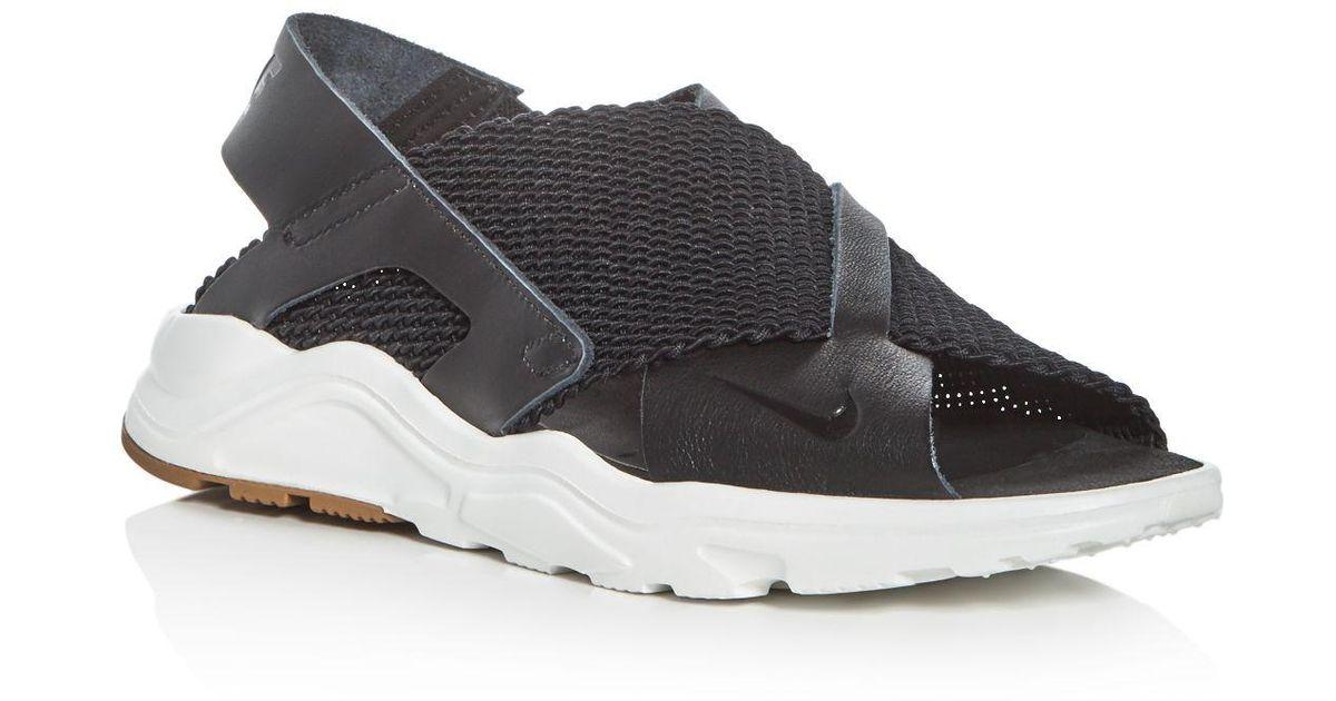 7362261ca0efe Lyst - Nike Women s Air Huarache Ultra Sandals in Black