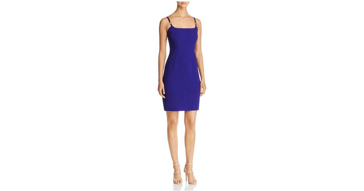 cd2c756d58c5f Elie Tahari Loraina Sheath Dress in Blue - Lyst