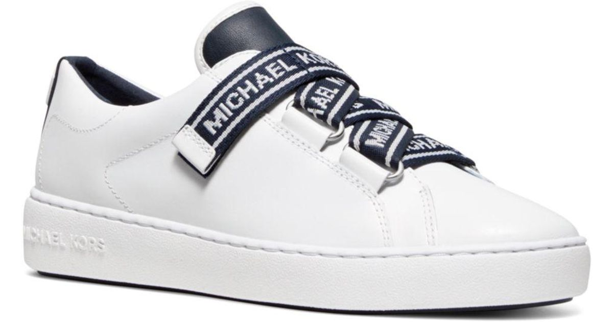 Casey Logo Tape Leather Sneakers - Lyst