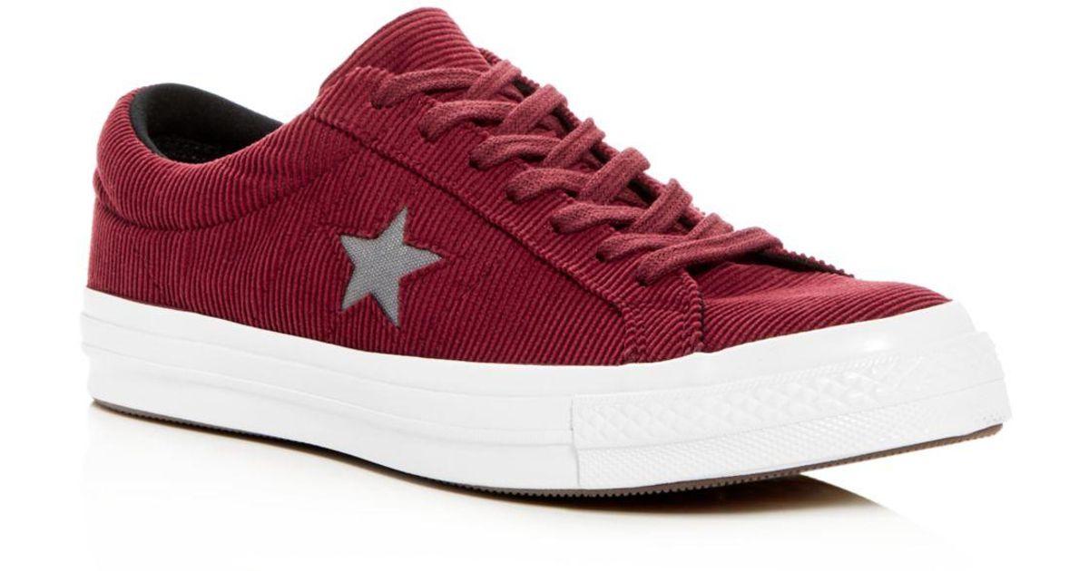 Converse Men's One Star Corduroy Lace