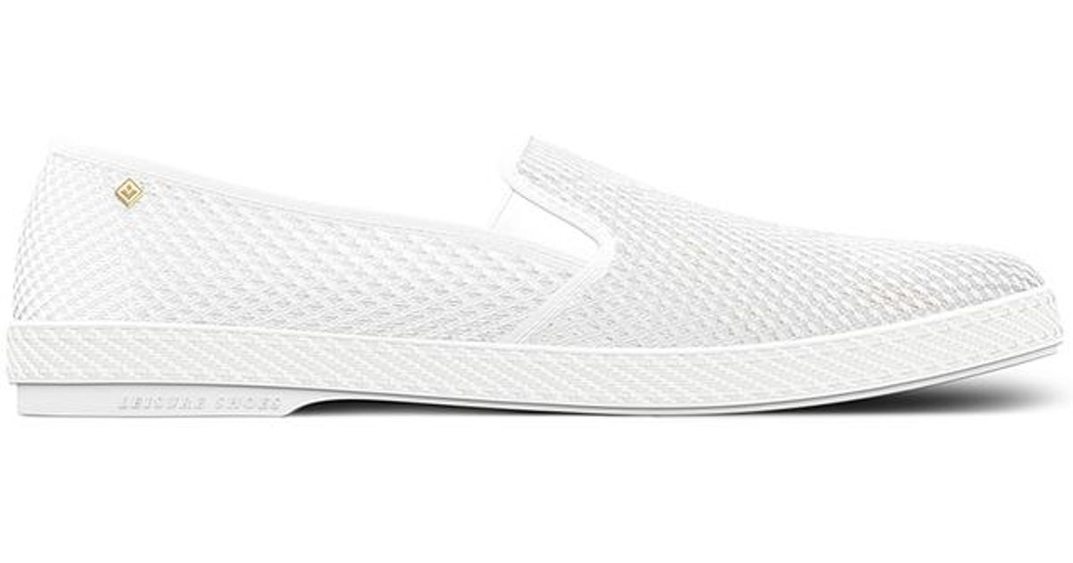 Classic Rivieras For 30 Degrees In White Lyst Men fq5aw8f