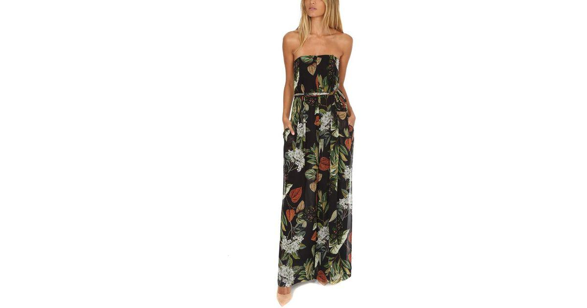 12e7220464a Nicholas Sabine Floral Jumpsuit - Lyst
