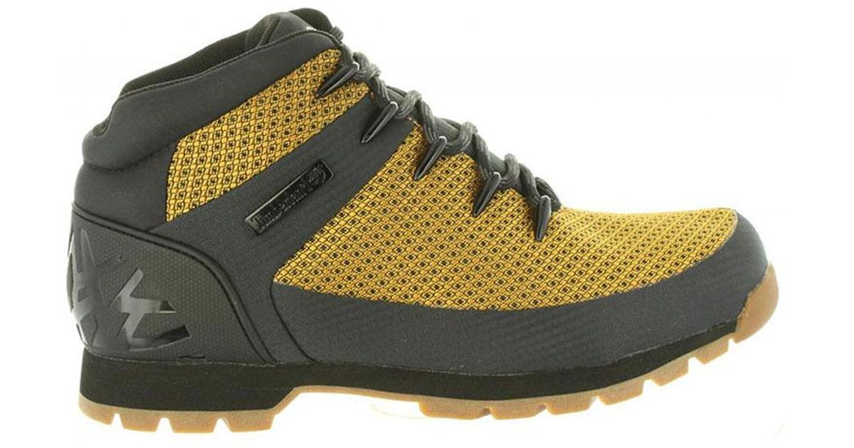 21cbbd4973e Timberland Multicolor Euro Sprint Hiker Boots A1qhq Wheat Ripstop for men