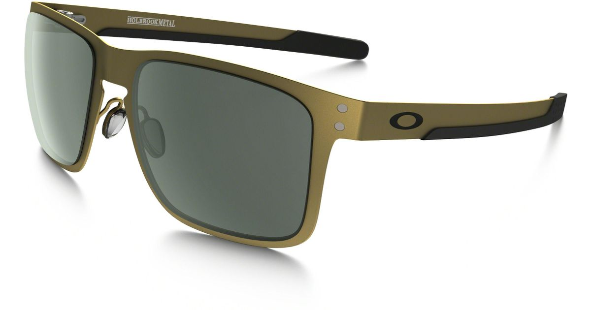 3cf29f80309 Lyst - Oakley Holbrook Metal Oo4123 Sunglasses in Green for Men