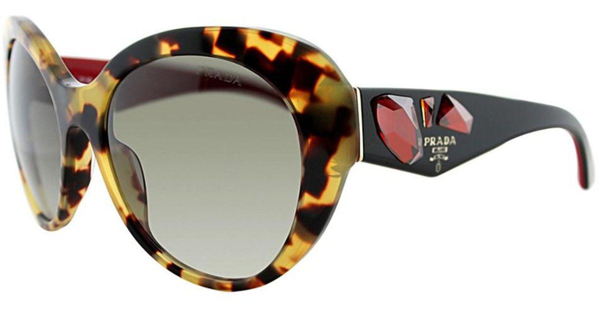 1ed4a7d2392 ... new arrivals lyst prada womens pr 26qs 7s00a7 56mm sunglasses 12204  2203b