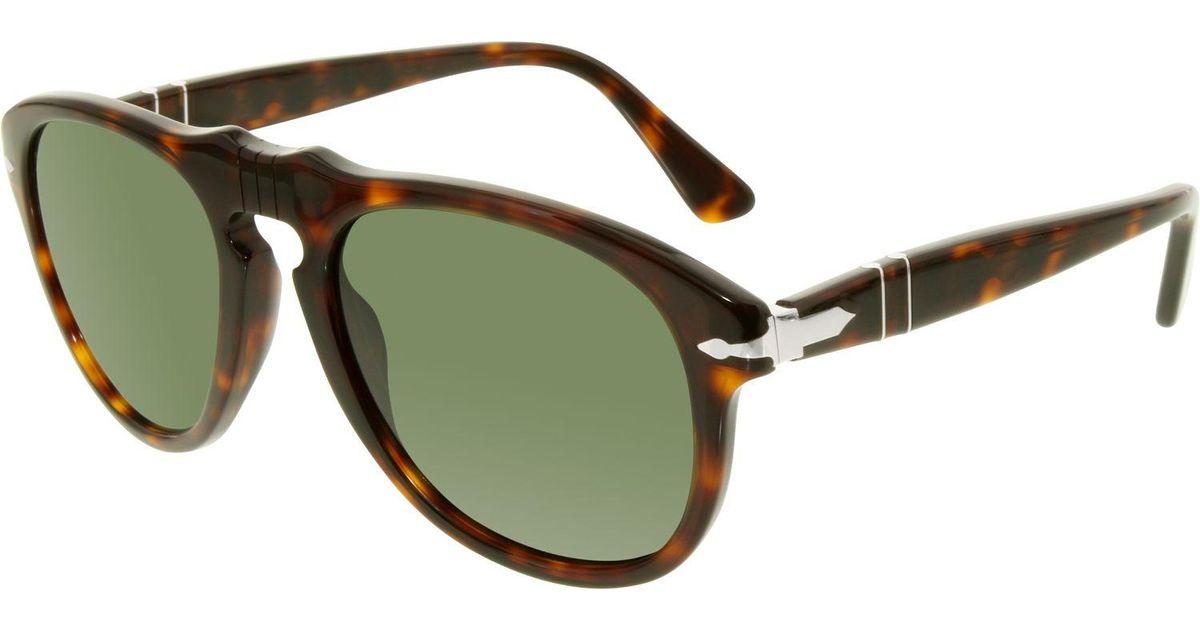3e71777632 Lyst - Persol Men s Po0649-24 31-52 Tortoiseshell Square Sunglasses for Men