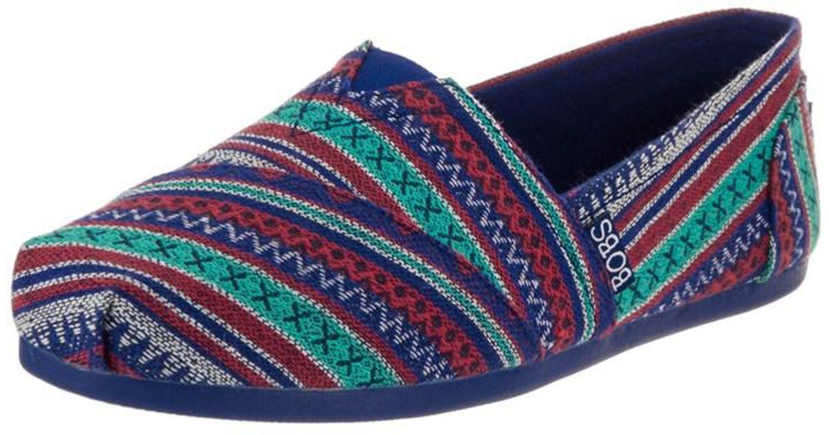 796b06613ef2b Skechers - Blue Bobs From Women's Bobs Plush - Lil Fox Casual Shoe - Lyst