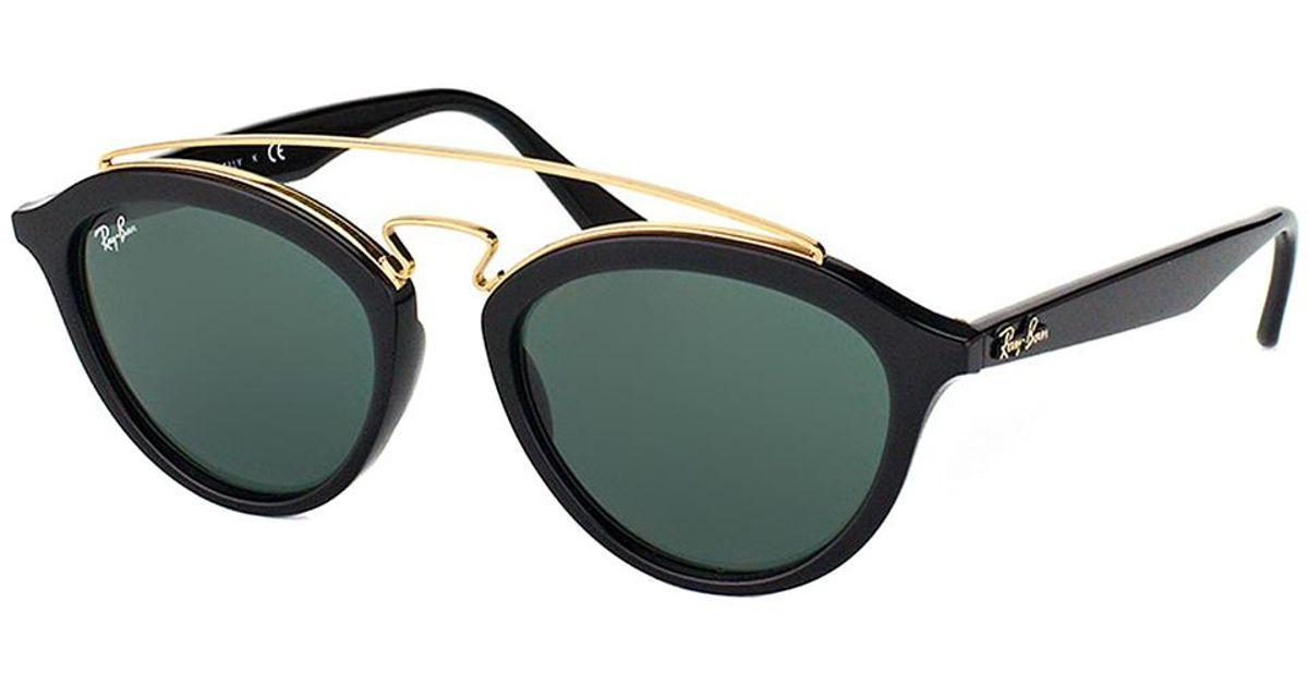 8b29d30ed30 Lyst - Ray-Ban Gatsby Ii Fashion Plastic Sunglasses in Black - Save 10%