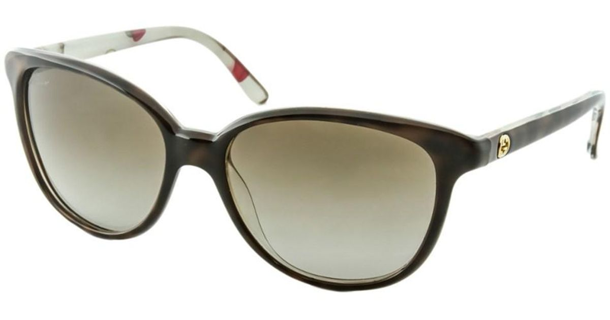 b4a3d79387 Lyst - Gucci Women s 3633 n s Sunglasses in Brown