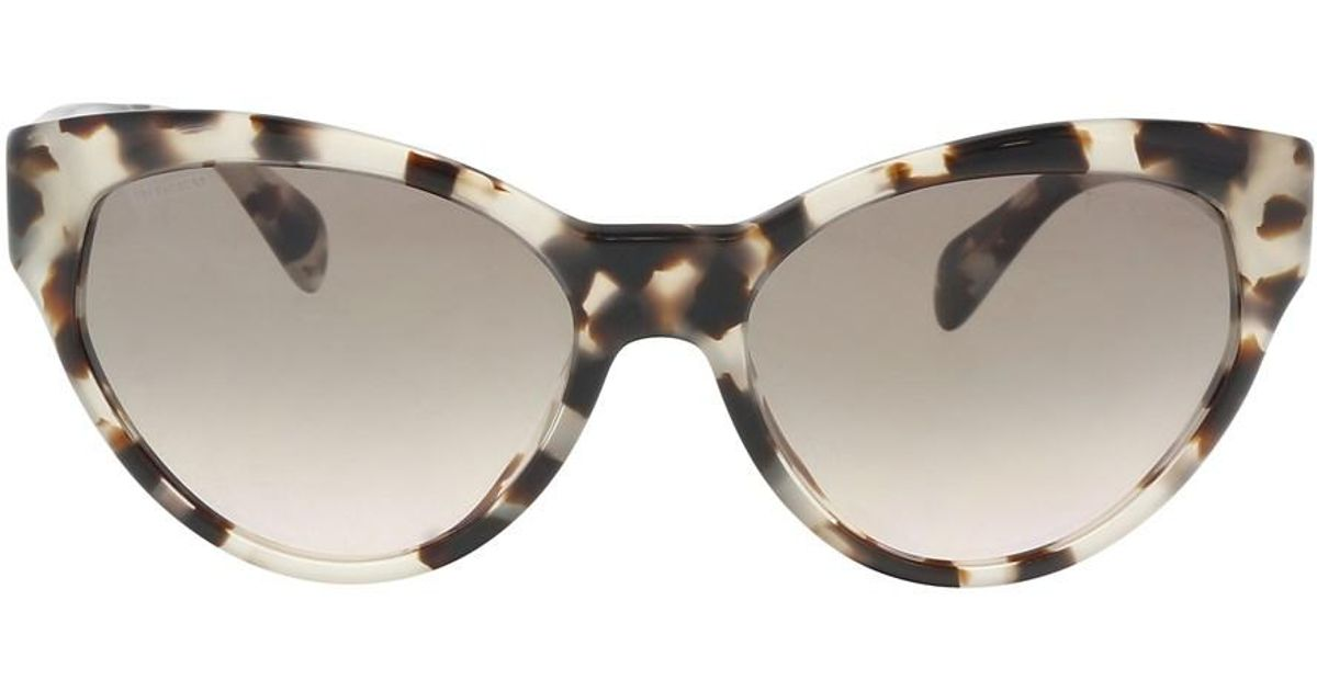 Prada Sonnenbrille 18Ss Spotted Opal Brown, 55
